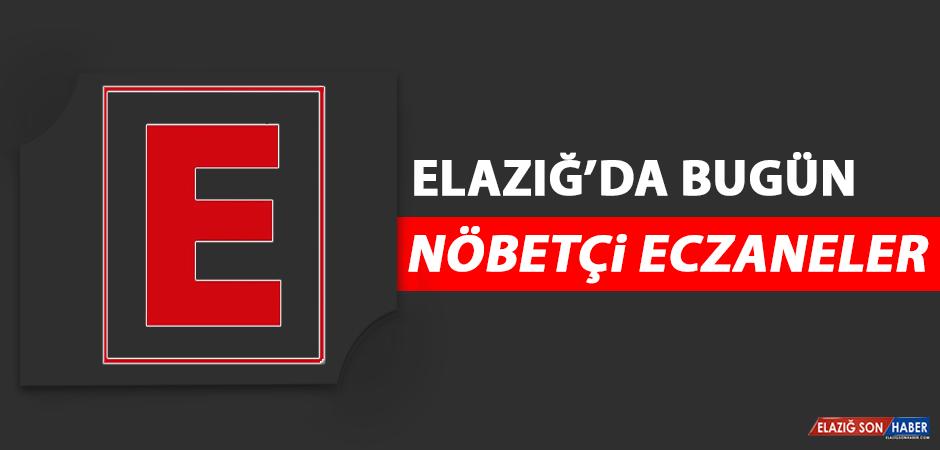 Elazığ'da 2 Eylül'de Nöbetçi Eczaneler