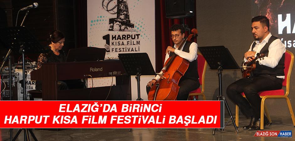 Elazığ'da Birinci Harput Kısa Film Festivali Başladı