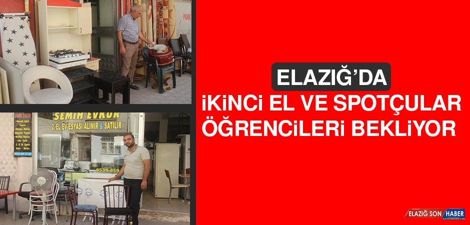 Elazığ'da İkinci El ve Spotçular Öğrencileri Bekliyor