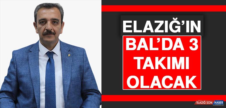 Elazığ'ın BAL'da 3 Takımı Olacak