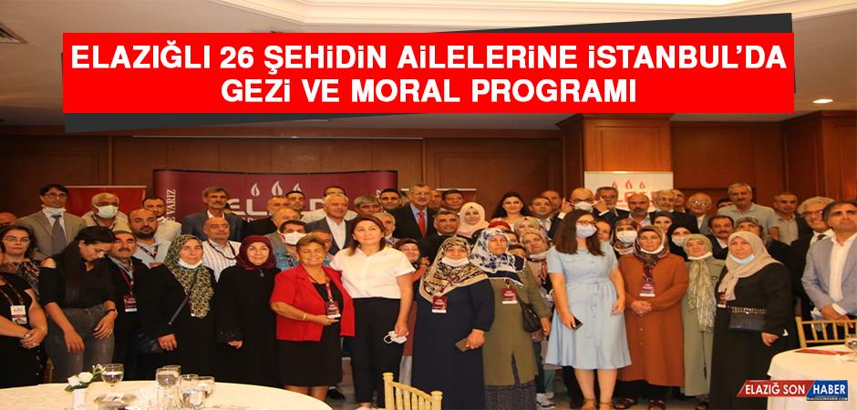 Elazığlı 26 Şehidin Ailelerine İstanbul'da Gezi ve Moral Programı