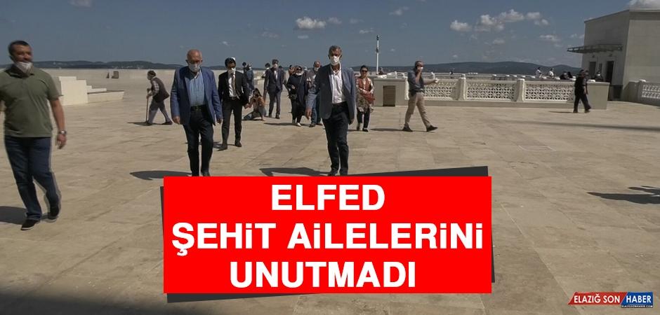 ELFED Şehit Ailelerini Unutmadı