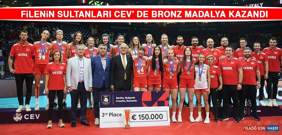 Filenin Sultanları CEV'de Bronz Madalya Kazandı