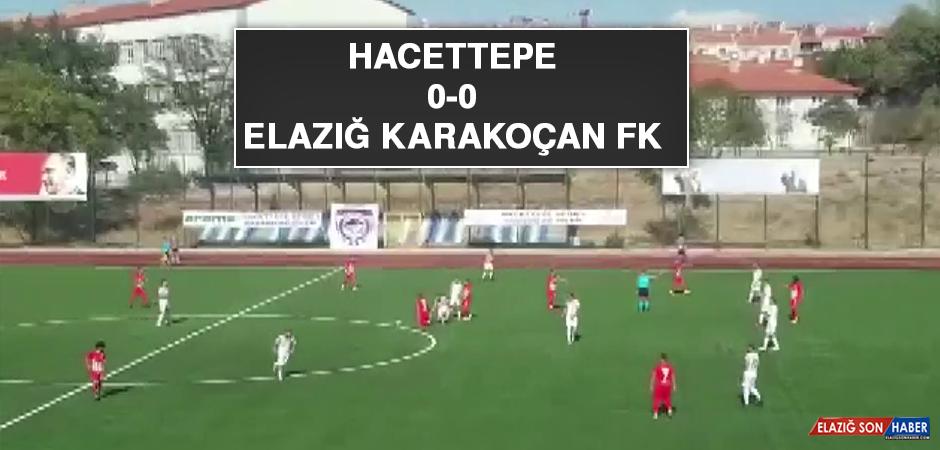 Hacettepe 0-0 Elazığ Karakoçan FK