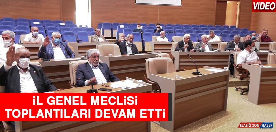 İl Genel Meclisi 5. Oturum İle Devam Etti