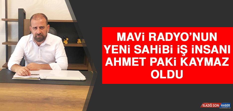 Mavi Radyo'nun Yeni Sahibi İş İnsanı Ahmet Paki Kaymaz Oldu