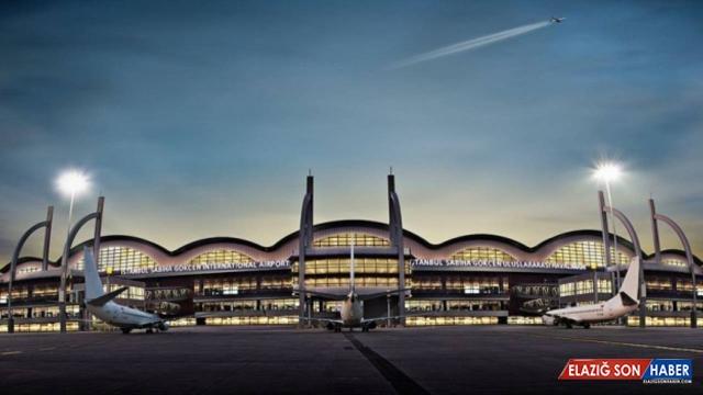 Sabiha Gökçen Havalimanı'nda 8 ayda 15 milyona yakın yolcu