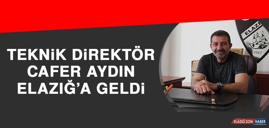 Teknik Direktör Aydın Elazığ'a Geldi