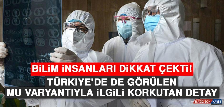 Türkiye'de de Görülen Mu Varyantıyla İlgili Korkutan Detay