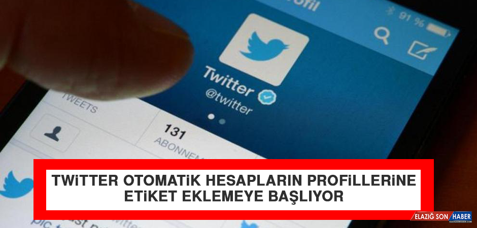 Twitter Otomatik Hesapların Profillerine Etiket Eklemeye Başlıyor