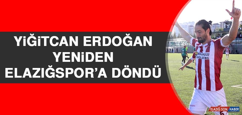Yiğitcan Erdoğan, Yeniden Elazığspor'a Döndü