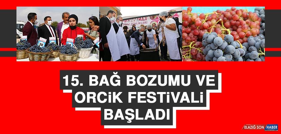 15. Bağ Bozumu ve Orcik Festivali Başladı