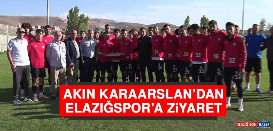 Akın Karaarslan'dan Elazığspor'a Ziyaret