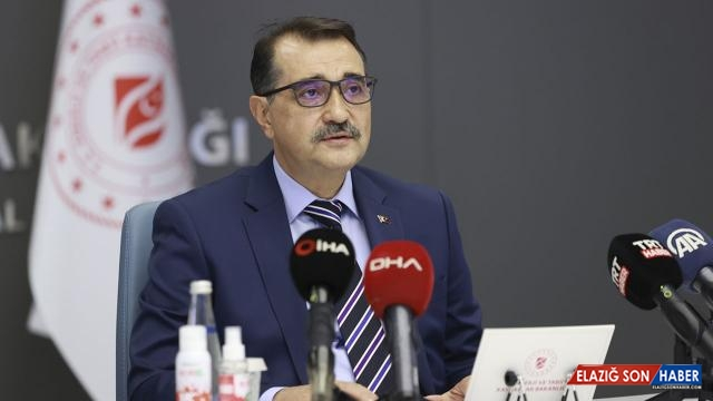 Bakan Dönmez'den doğal gaz açıklaması