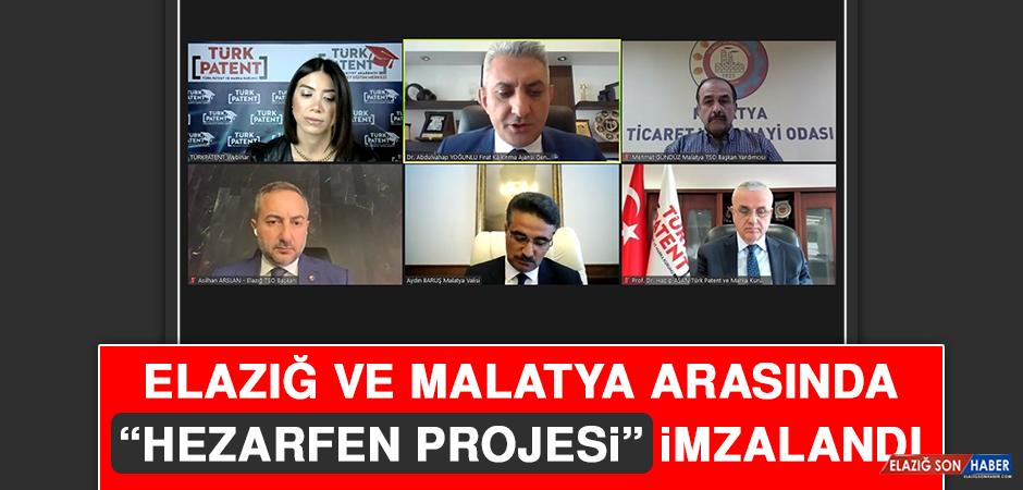 """Elazığ ve Malatya Arasında """"Hezarfen Projesi"""" İmzalandı"""