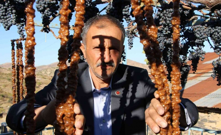 Elazığ'ın vazgeçilmez tescilli lezzeti 'Orcik' için mesai başladı