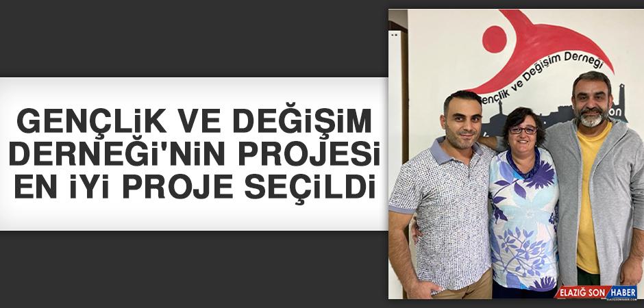 Gençlik Ve Değişim Derneği'nin Projesi En İyi Proje Seçildi