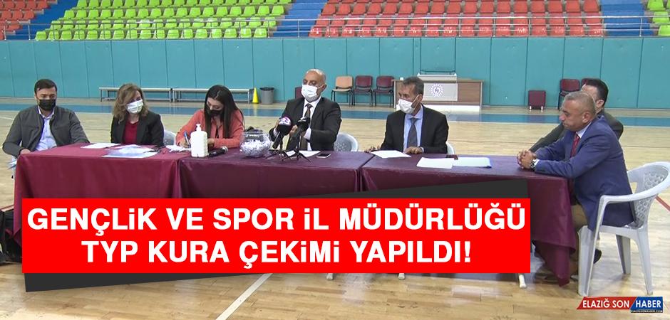 Gençlik ve Spor İl Müdürlüğü TYP Kura Çekimi Yapıldı