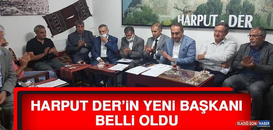Harput Der'in Yeni Başkanı Belli Oldu
