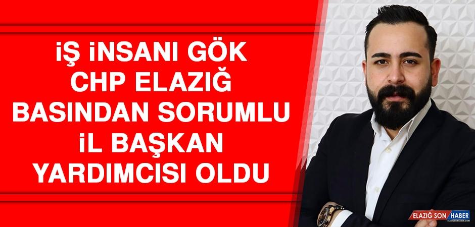 İş İnsanı Gök CHP Elazığ Basından Sorumlu İl Başkan Yardımcısı Oldu