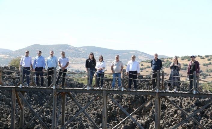Jeopark Belediyeler Birliği Encümeni Kula'da toplandı