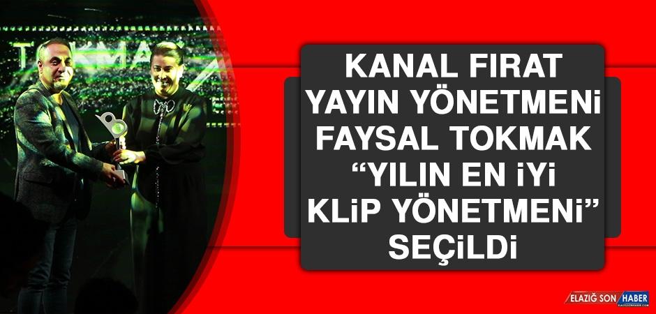 """Kanal Fırat Yayın Yönetmeni Faysal Tokmak, """"Yılın En İyi Klip Yönetmeni"""" Seçildi"""
