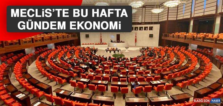 Meclis'te Bu Hafta Gündem Ekonomi