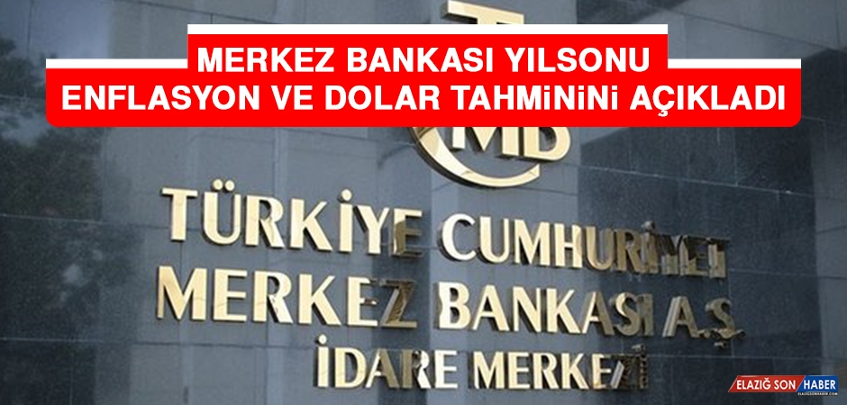 Merkez Bankası YılSonu Enflasyon ve Dolar Tahminini Açıkladı