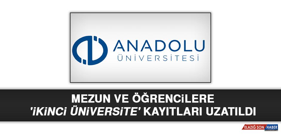 Mezun ve Öğrencilere 'İkinci Üniversite' Kayıtları Uzatıldı