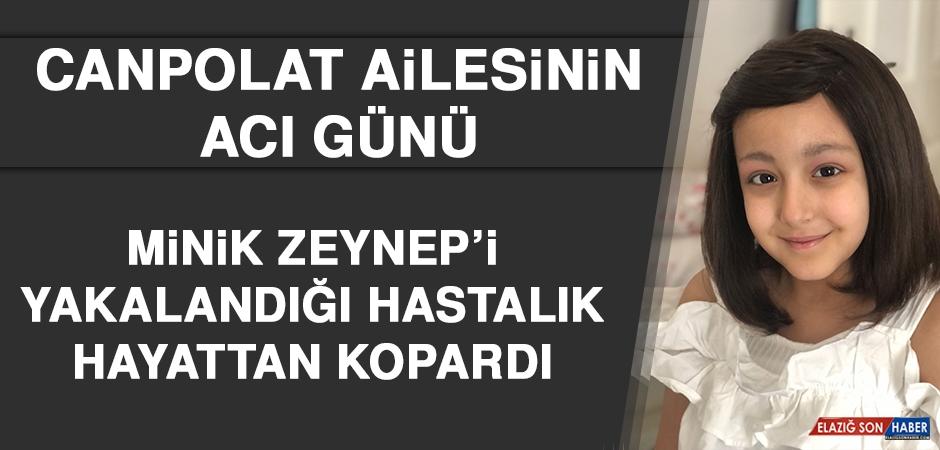 Minik Zeynep'i Yakalandığı Hastalık Hayattan Kopardı