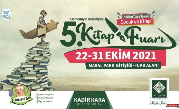 Osmaniye'de 5. Kitap Fuarı 22 Ekim'de açılıyor