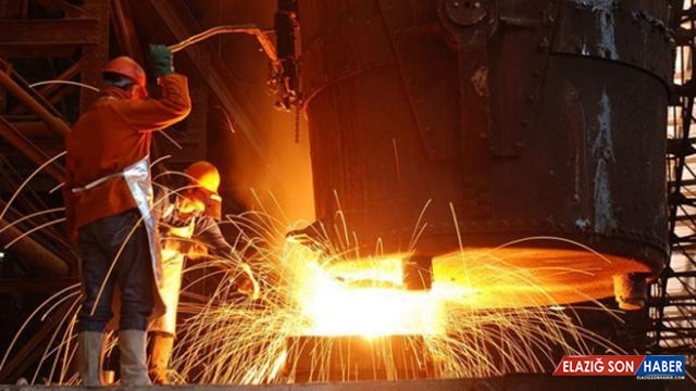 Sanayi üretim endeksi yıllık bazda yüzde 13,8 arttı
