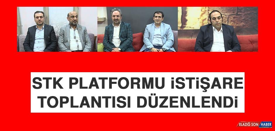 STK Platformu İstişare Toplantısı Düzenlendi