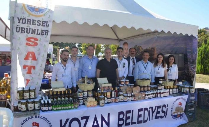 Uluslarası Adana Lezzet Festivali'nde yöresel ürünlere yoğun ilgi