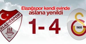 Elazığspor 1 - 4 Galatasaray