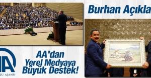 AA'dan Yerel Medyaya Büyük Destek!