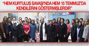 """TKDK """"8 Mart Dünya Kadınlar Günü""""nü Kutladı"""