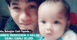 Baba, Bebeğine Canlı Yayında Bakın Ne Yaptı