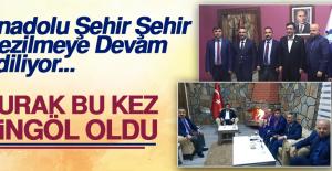Cevdet Yılmaz, Anadolu'da Referandum'un Konuğu Oldu