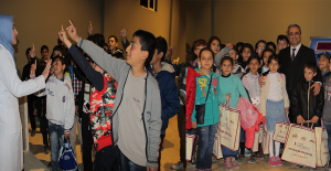 Öğrenciler Bilim Merkezini Gezdi