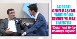 Ak Parti Genel Başkan Yardımcısı Cevdet Yılmaz Elazığ'da