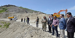 Elazığ-Tunceli Karayolundaki Çalışmalar İncelendi