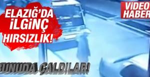 Elazığ'da İlginç Hırsızlık!(Video Haber)