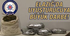 Elazığ'da Uyuşturucuya Büyük Darbe!