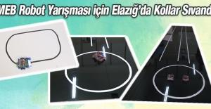 MEB Robot Yarışması İçin Elazığ'da Kollar Sıvandı