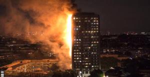 Londra'da 24 Katlı Bina Alev Alev Yandı: En Az 6 Ölü