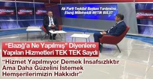 Ak Parti Elazığ Milletvekili Bulut, Elazığ'a Yapılanları Tek Tek Saydı