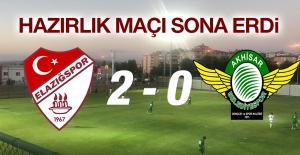 Erzurum kampında ilk hazırlık maçı