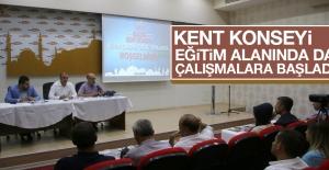 Kent Konseyi'nde, Elazığ'daki Eğitim Sorunları Ele Alındı
