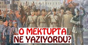 Zafer Öncesinde Mustafa Kemal'e Mektup